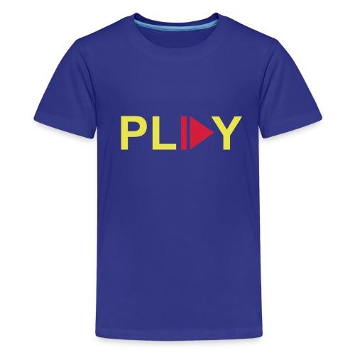 Teenager Premium T-shirt - tshirt,t-shirt,shirtpimper.com,sex,play,party,online,muziek,liefde,lief,kopen,kleding,kids,internet,humor,grappig,geweld,games,fun,feest,dames,bestellen,baby's,baby