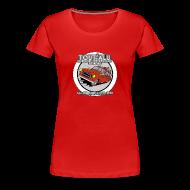 Tee shirts ~ T-shirt Premium Femme ~ 403 TOUT'ALU ROUGE