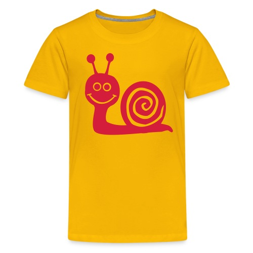 Snail - Teenager Premium T-shirt