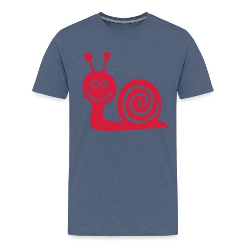 Snail - Teenager Premium T-shirt