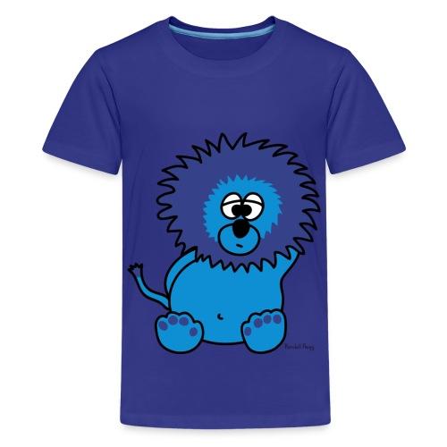 Litchee le Lion Bleu pour les p'tits - T-shirt Premium Ado