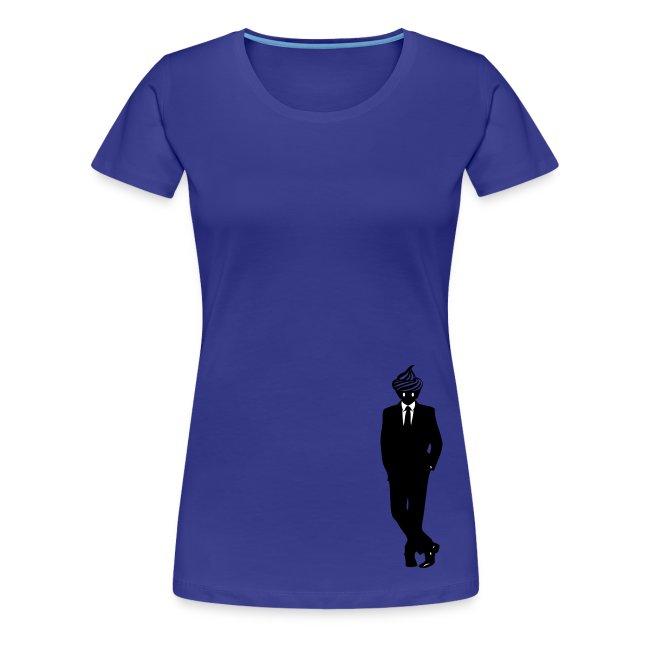 T-shirt Cupcake Man cintré Femme