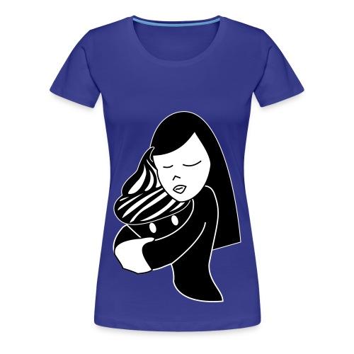 T-shirt Hug Cupcake Femme - T-shirt Premium Femme