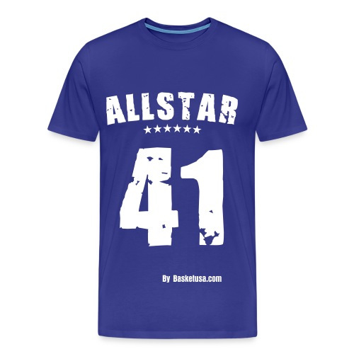 T-Shirt Man All Star 41 - T-shirt Premium Homme
