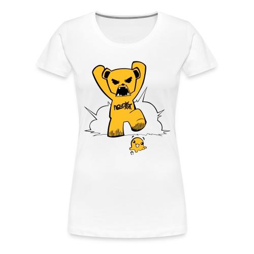 L'attaque de Teddy - T-shirt Premium Femme