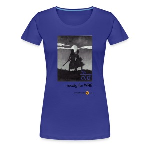 Women's Kaur - ready for WAR - Women's Premium T-Shirt