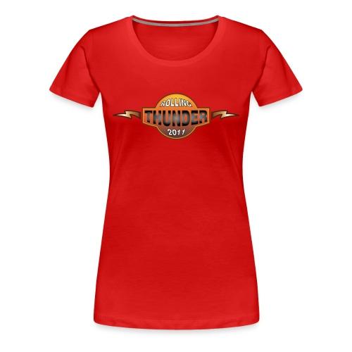 Rolling Thunder 2011 Official Womens Tee - Women's Premium T-Shirt