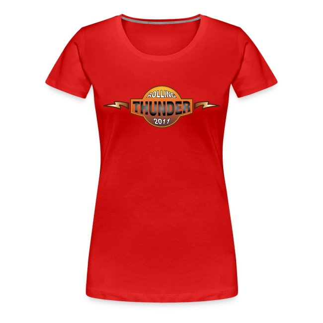 Rolling Thunder 2011 Official Womens Tee