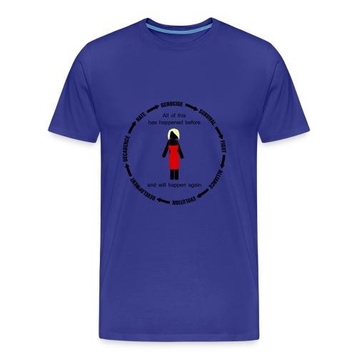 Battlestar Galactica - all of this has happened before - Camiseta premium hombre
