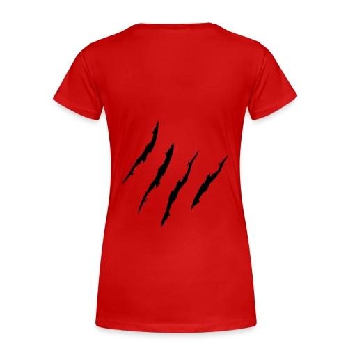Innocent Cat - Frauen Premium T-Shirt
