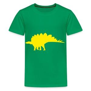 Stegosaurus - Teenage Premium T-Shirt