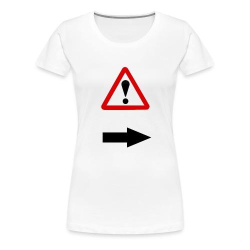 achtung - Frauen Premium T-Shirt