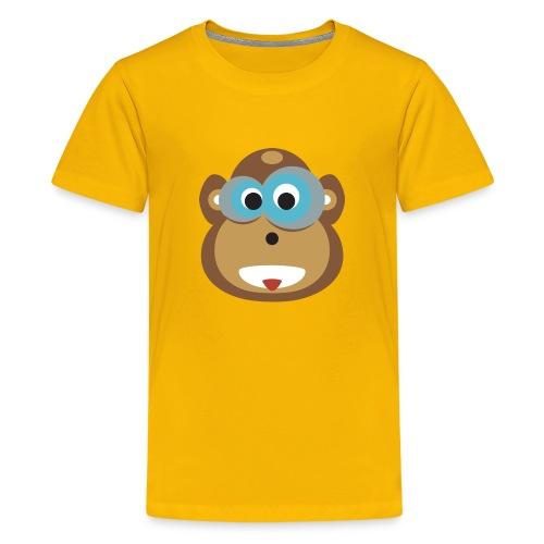 Moe the Monkey Kids Shirt - Teenager Premium T-Shirt