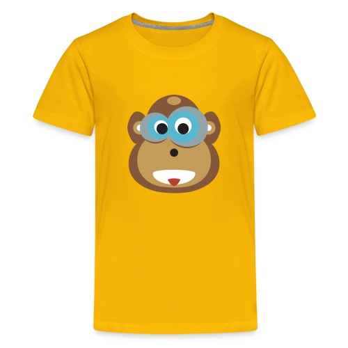 Moe the Monkey Kids Shirt - Teenager Premium T-Shirt