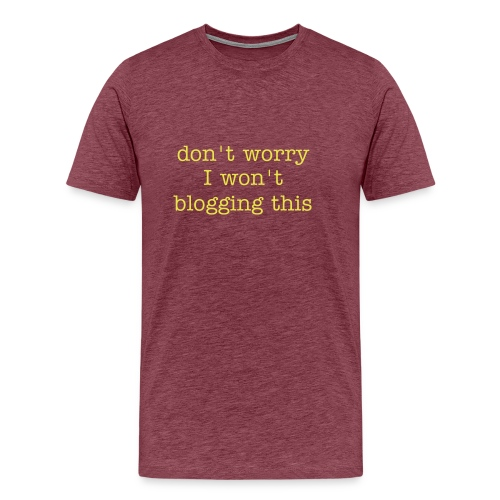 don't worry homme - T-shirt Premium Homme