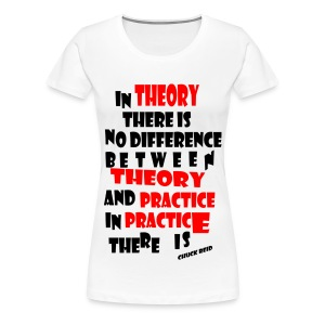 Theory&practice - T-shirt Premium Femme