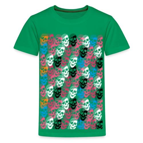 barnskallar - Premium-T-shirt tonåring