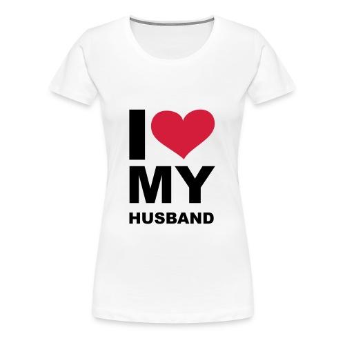 Loves, dam - Premium-T-shirt dam