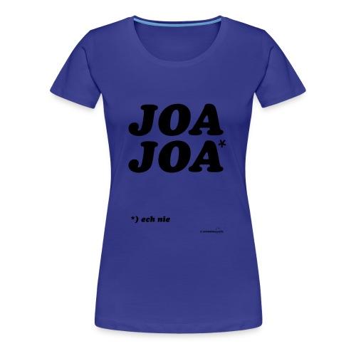 JoaJoa (zwarte opdruk) - Vrouwen Premium T-shirt