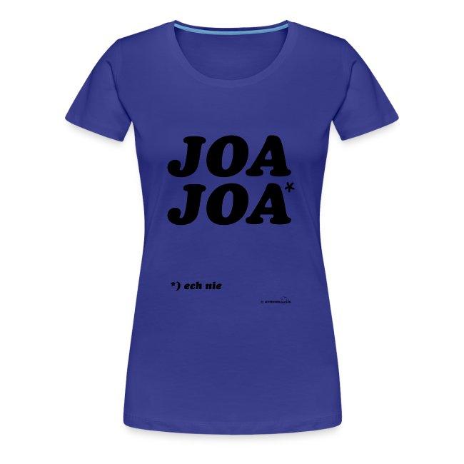 JoaJoa (zwarte opdruk)