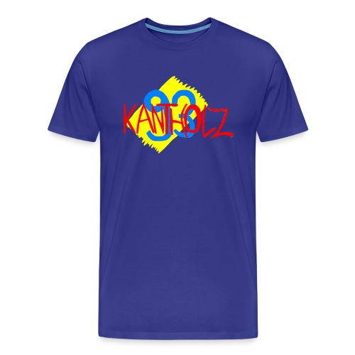 Kantholz93 Herren T-Shirt Royalblau - Männer Premium T-Shirt