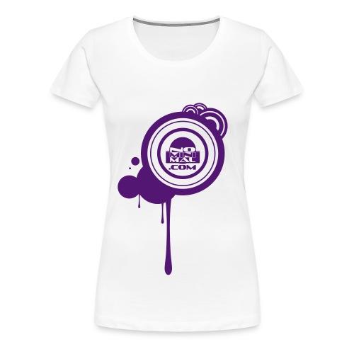 Nominimal splash - T-shirt Premium Femme