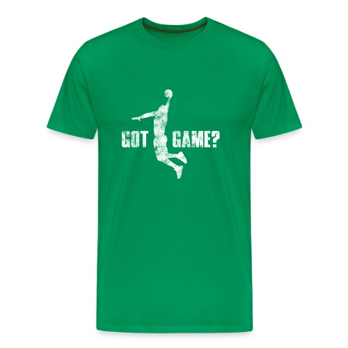 Basketball Got Game?, Vintage, Used Look - Männer Premium T-Shirt