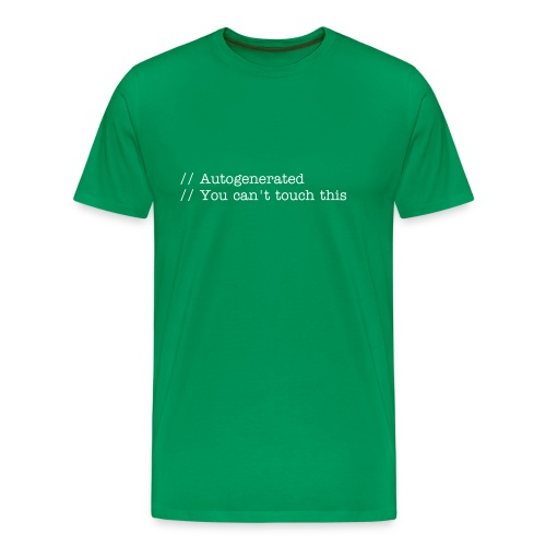 Autogenerated - Men's Premium T-Shirt