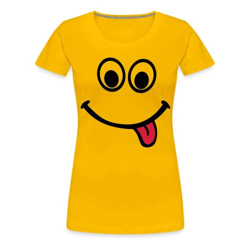 Smiley Shirt - Frauen Premium T-Shirt