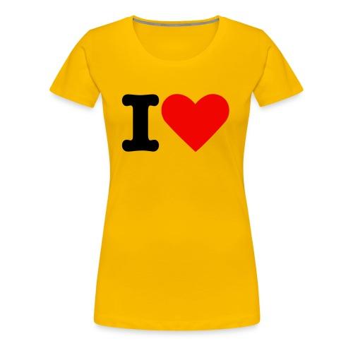 Love Cocktails - Frauen Premium T-Shirt
