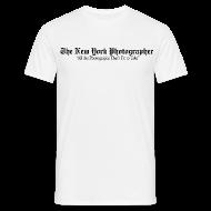 Tee shirts ~ Tee shirt Homme ~ The New York Photographer (façon New York Times)