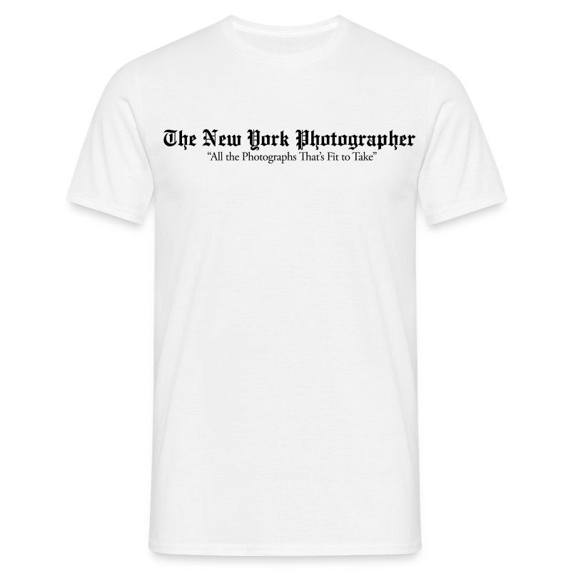 The New York Photographer (façon New York Times) - T-shirt Homme