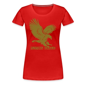 Flying Eagle_Ladys - Frauen Premium T-Shirt