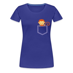 pocket monkey - Women's Premium T-Shirt