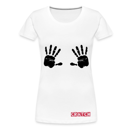 hands on - Women's Premium T-Shirt