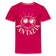 Shirts ~ Teenage Premium T-Shirt ~ Fantazia Kids  T-shirt with glow in the dark logo