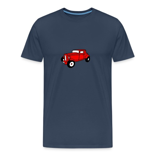 Hot Rod Oldtimer 1 - Flockdruck - Männer Premium T-Shirt