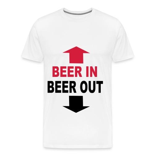 Beer Men's T-Shirt - Men's Premium T-Shirt