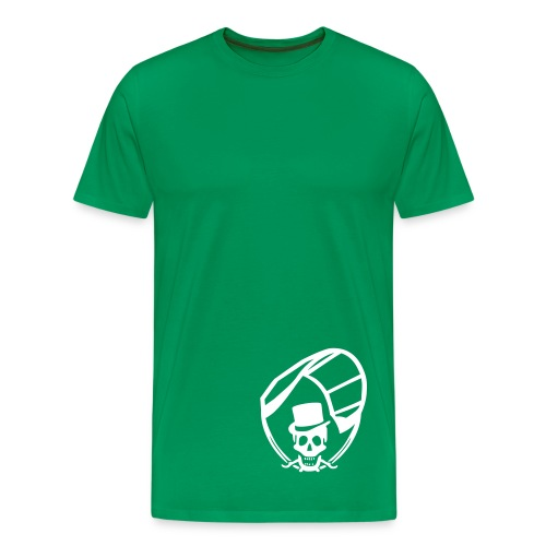 Kite Skull - Männer Premium T-Shirt