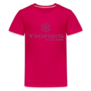 Teenage Premium T-Shirt - Kids Glitter Tee