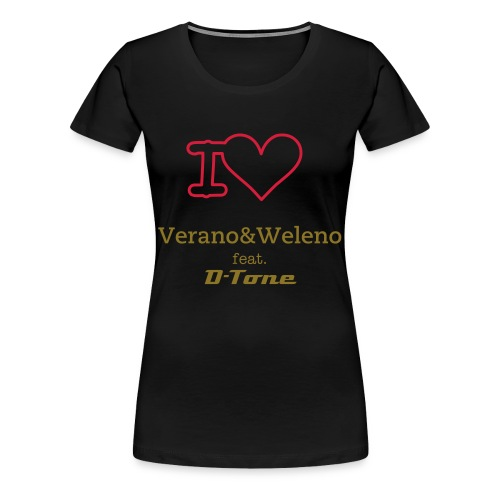 I love  - Frauen Premium T-Shirt
