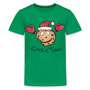 Christmas Cookie Shirt - Teenager Premium T-Shirt