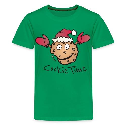 Christmas Cookie Shirt - Teenager Premium T-Shirt