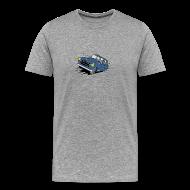 Tee shirts ~ T-shirt Premium Homme ~ 403 FULL THROTTLE BLEUE