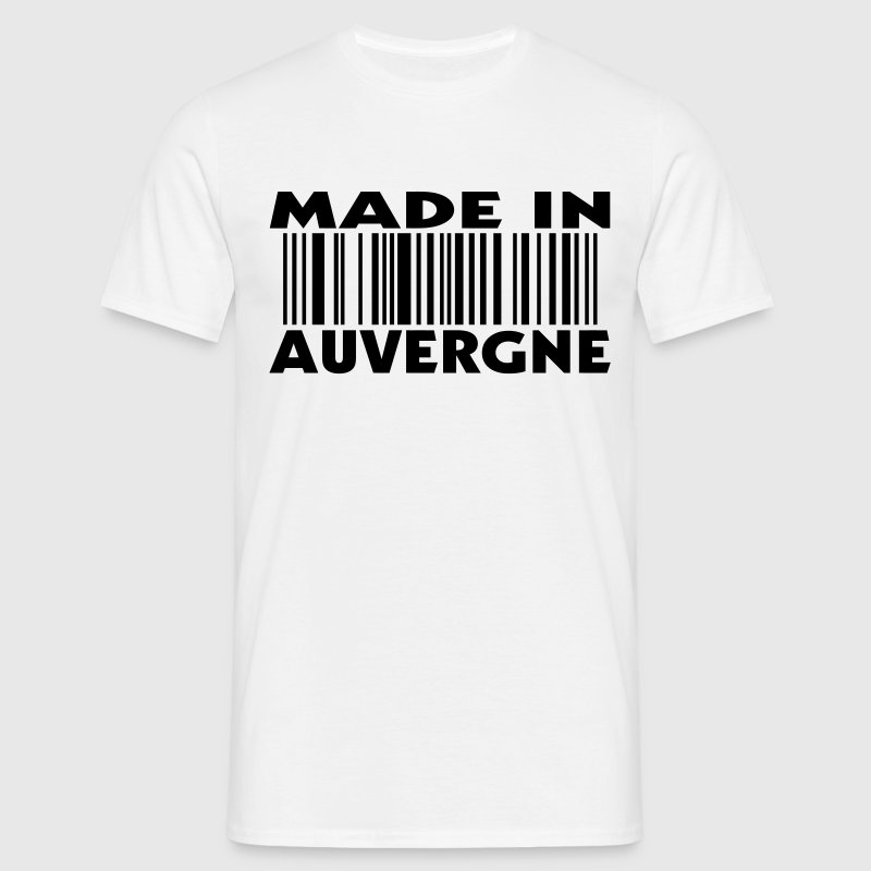 made in AUVERGNE (1c) T-shirts - T-shirt Homme