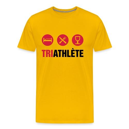 TriAthlète Shirt - T-shirt Premium Homme