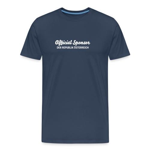 Official Sponsor XXL - Männer Premium T-Shirt