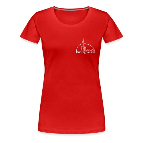 Frauen Girlieshirt: 900 Jahre - Frauen Premium T-Shirt