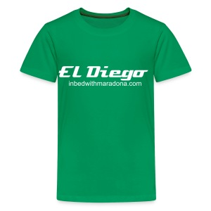 The IBWM kids 'El Diego' tee - Teenage Premium T-Shirt