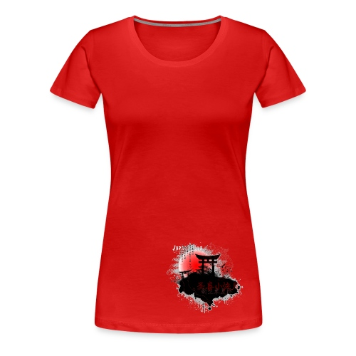 Japan  - Frauen Premium T-Shirt